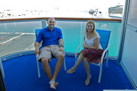 Balcony of R748 on Ruby Princess